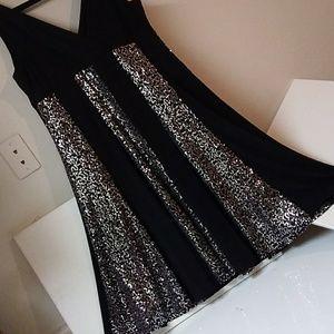 Sequin Glamour-dress